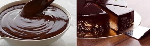 Зеркальная глазурь без шоколада