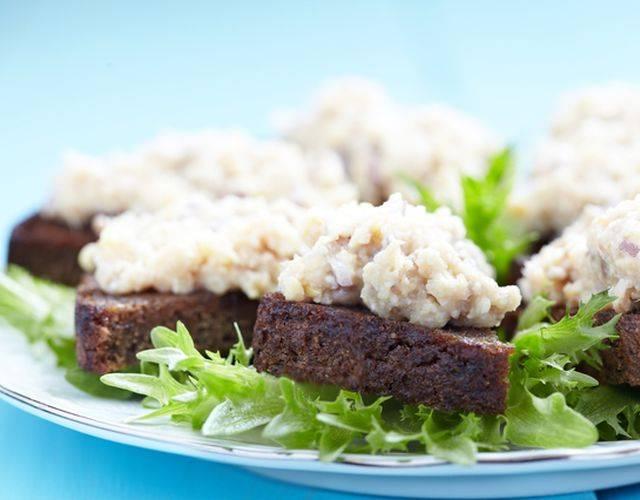 Форшмак из скумбрии простой домашний рецепт пошагово с фото