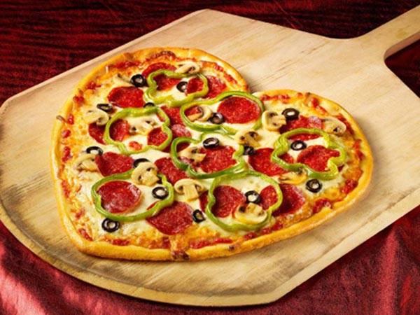Как приготовить пиццу в виде сердца на день валентина? пошаговый рецепт с фото.