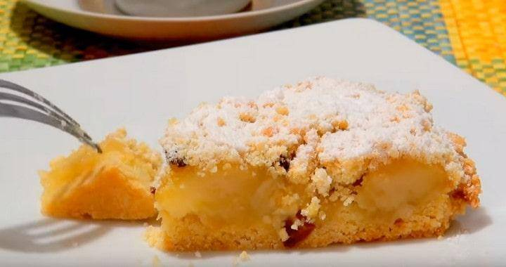Яблочный пирог и бисквиты с яблоками: 2 рецепта. есть теплыми!