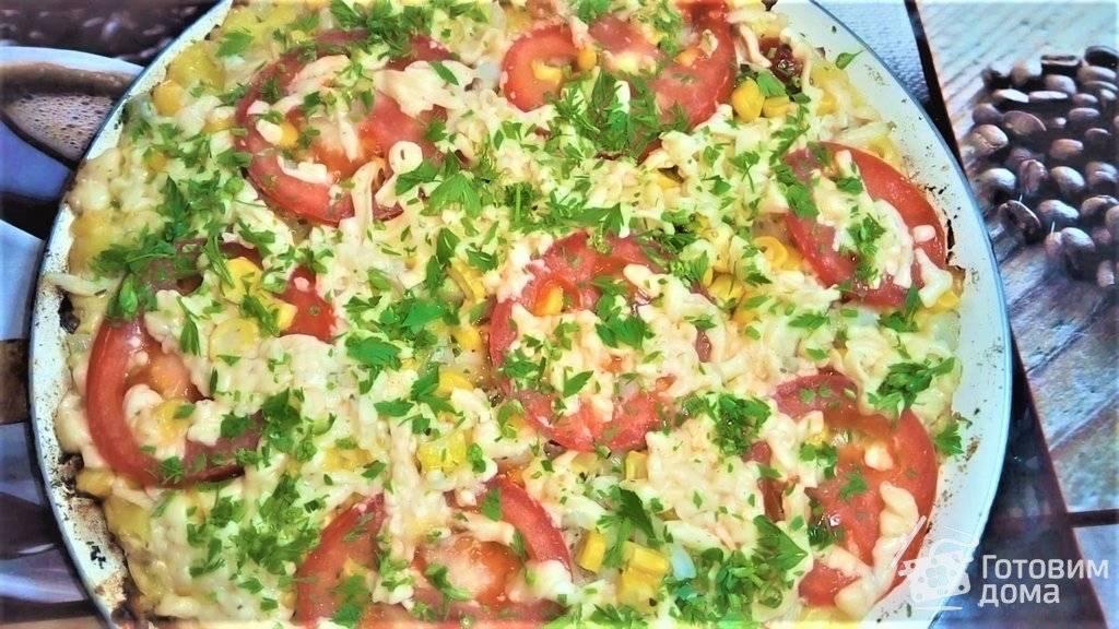 Пицца из лаваша в духовке/ рецепт с фото