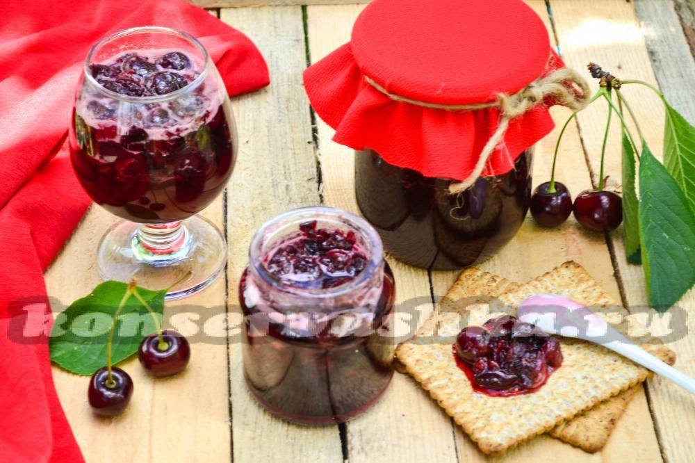 Вишневое варенье на зиму -  с косточками и без: 8 рецептов, особенности приготовления - onwomen.ru