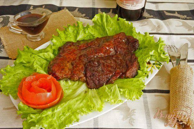 Стир-фрай из говядины с бэби-овощами