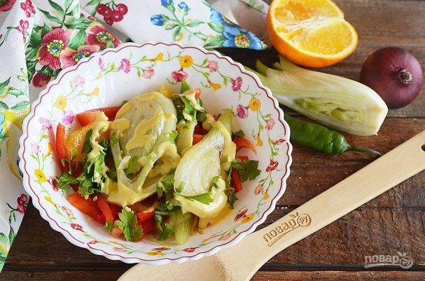 Курица с фенхелем - запеченный фенхель | cookingtime.ru