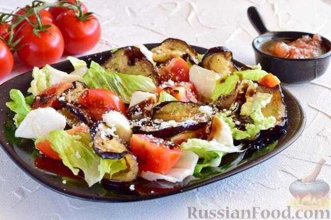 Итальянский салат с макаронами, ветчиной и блинами - рецепты «панцанеллы», «пармиджано» и «капрезе»