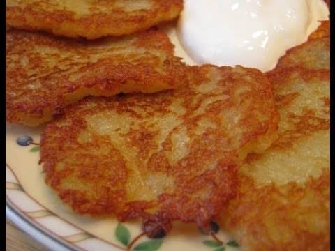 Постные кабачково-картофельные драники