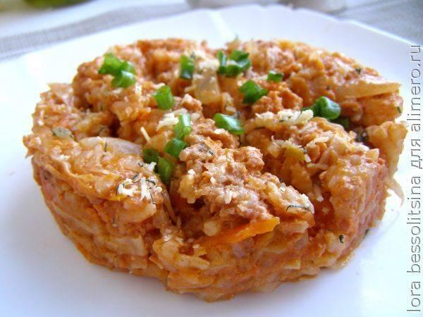 Ленивые голубцы с капустой, фаршем и рисом - 5 простых и вкусных рецептов с фото пошагово