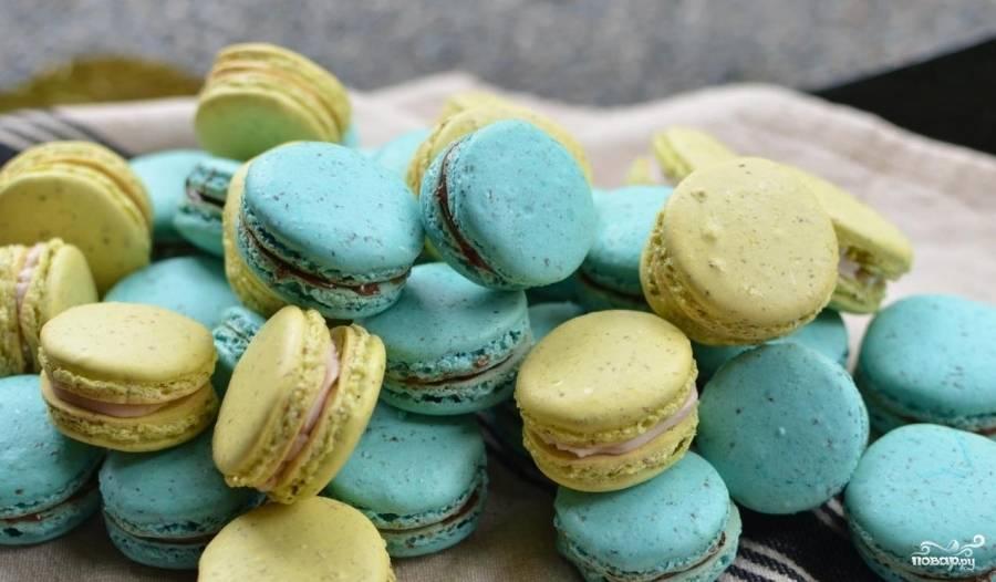 Печенье макарон: рецепт приготовления с простой пошаговой инструкцией