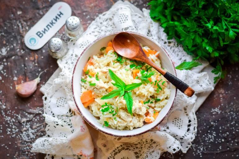 Жареный рис овощами: 9 аппетитных рецептов |
