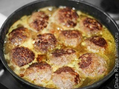 Фрикадельки из говядины, сколько варить фрикадельки - рецепты