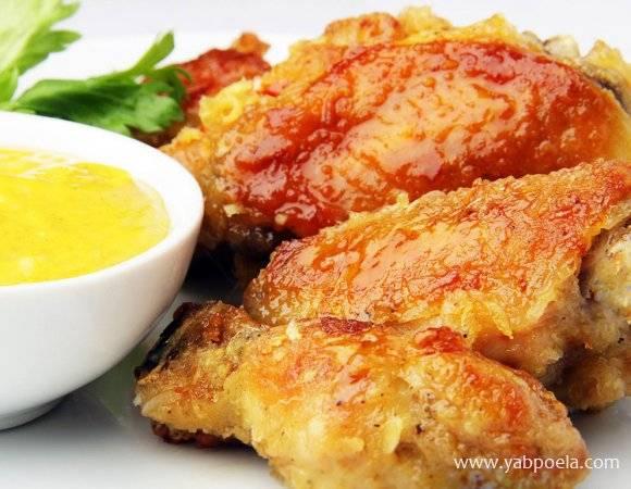Куриные крылышки — 8 рецептов в духовке