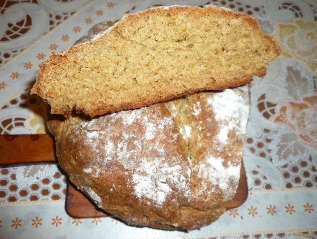 Ирландский хлеб на соде в духовке