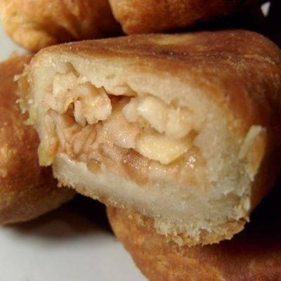 Пирожки с начинкой из баклажанов