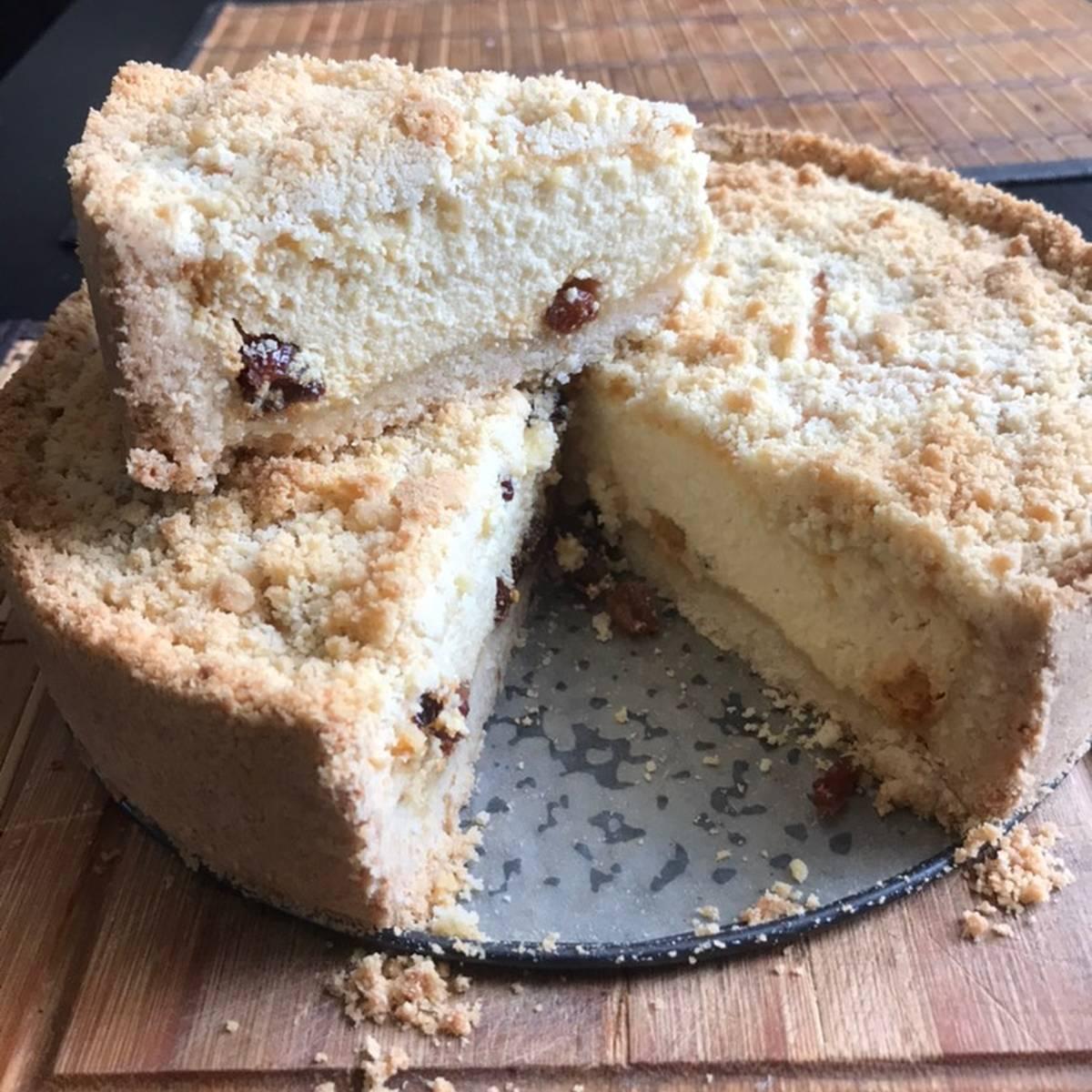 Ирландский содовый хлеб с изюмом и тмином