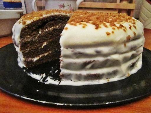 """Торт """"черемуховый"""""""