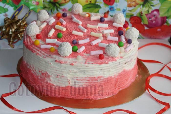 Сливовый пирог с ванильным кремом