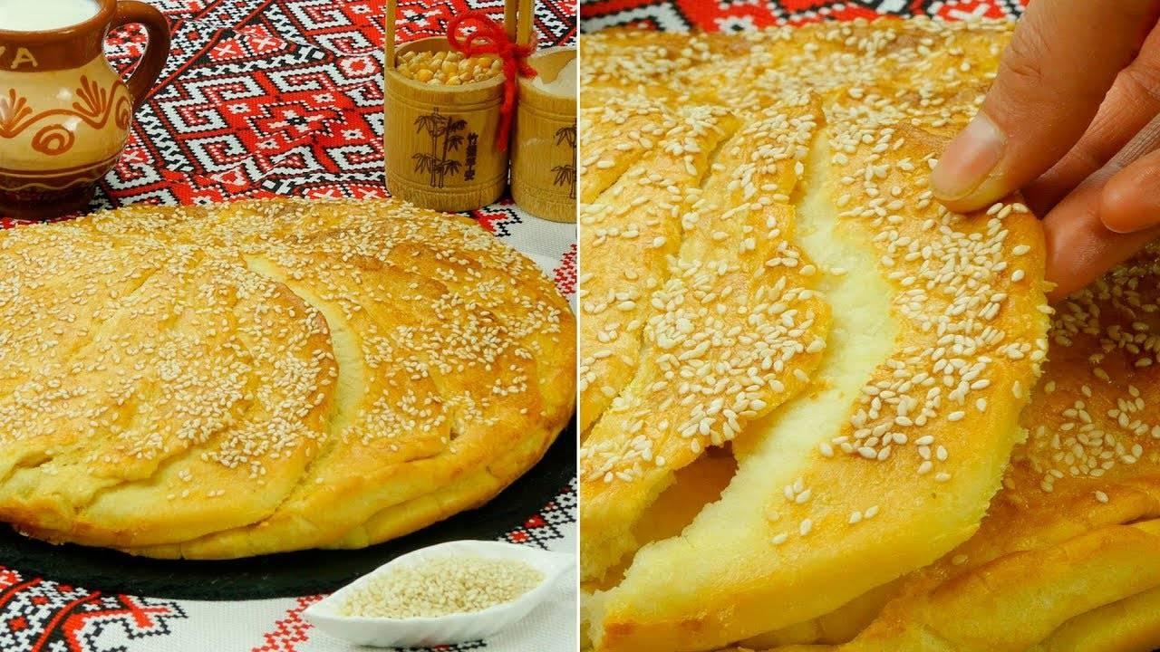 Сербский хлеб «погачице»