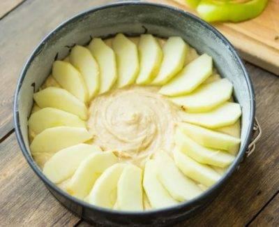 Цветаевский пирог с яблоками