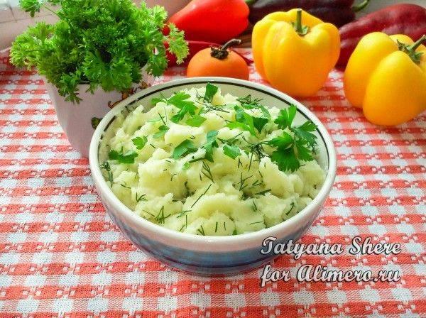 Картофельное пюре с сыром, пошаговый рецепт с фото