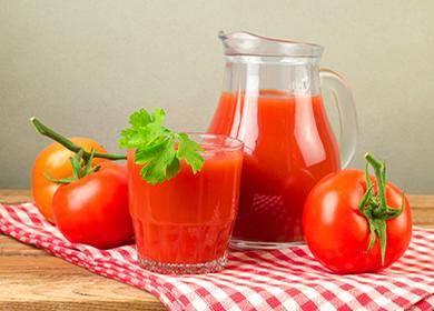Томатный сок на зиму в домашних условиях — лучшие рецепты с фото