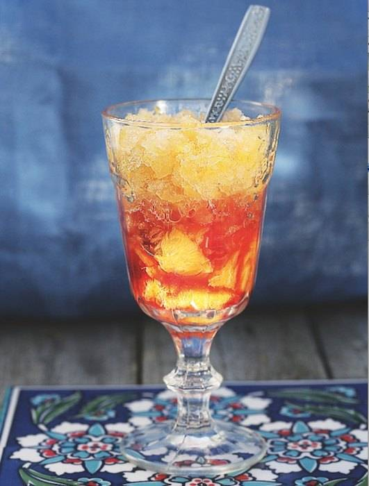 Сорбет или фруктовое мороженое из арбуза — рецепт уходящего лета