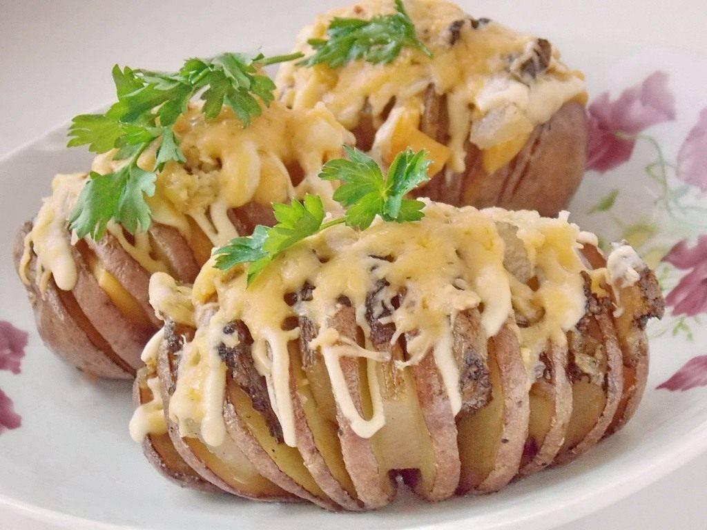 Картошка `гармошка` в духовке
