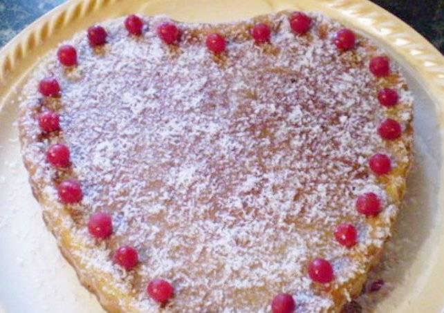 Дрожжевой пирог с курагой