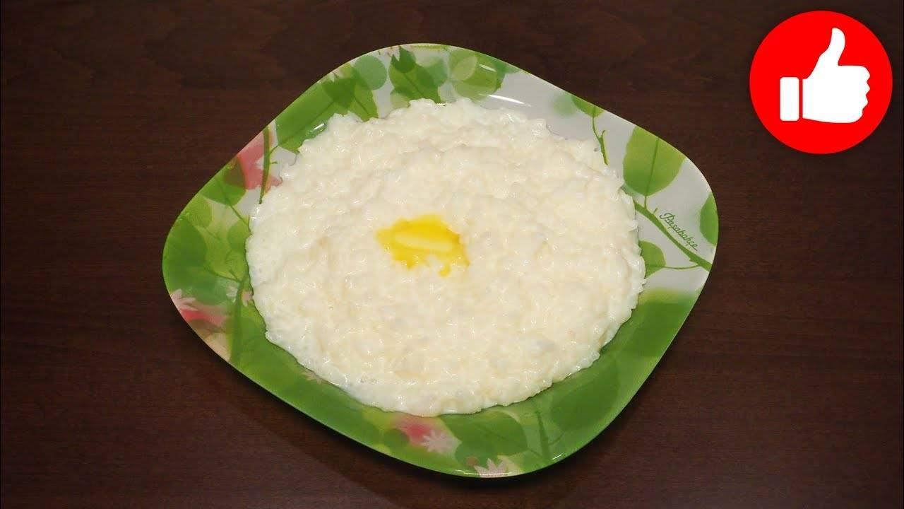 Рисовая каша в мультиварке на молоке
