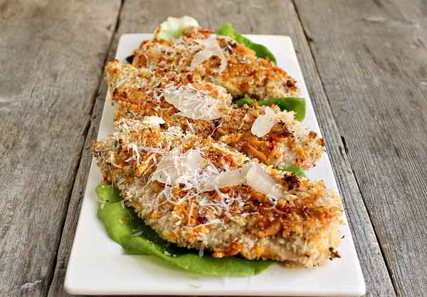 Хрустящая рыбка в сырной панировке (духовка)