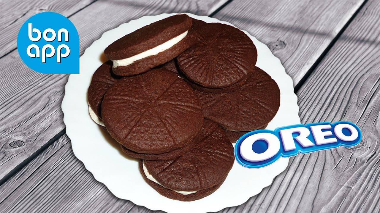 Пошаговый рецепт приготовления печенья орео