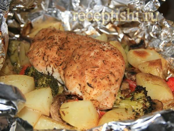 Как приготовить картофельную запеканку с курицей по пошаговому рецепту с фото