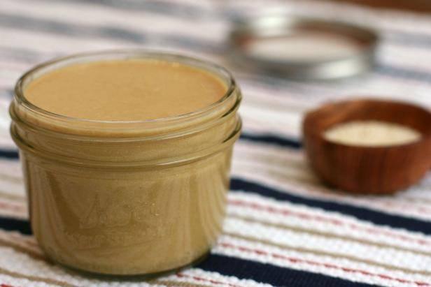 Кунжутная паста тахини – традиционный продукт восточной кухни