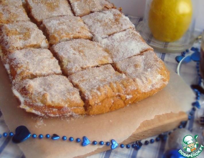 Лимонный пирог №2