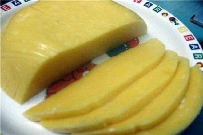 "Сыр ""сливочный"" от бабы шуры"