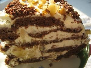 Как сделать торт из шоколадных пряников: фото и рецепты приготовления десертов без выпечки