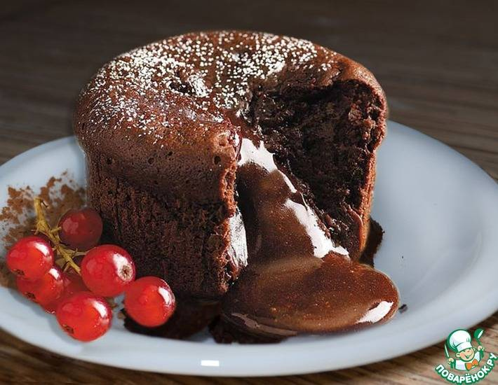 Острый шоколадный торт со сливами/ torta piccante di cioccolato e prugne