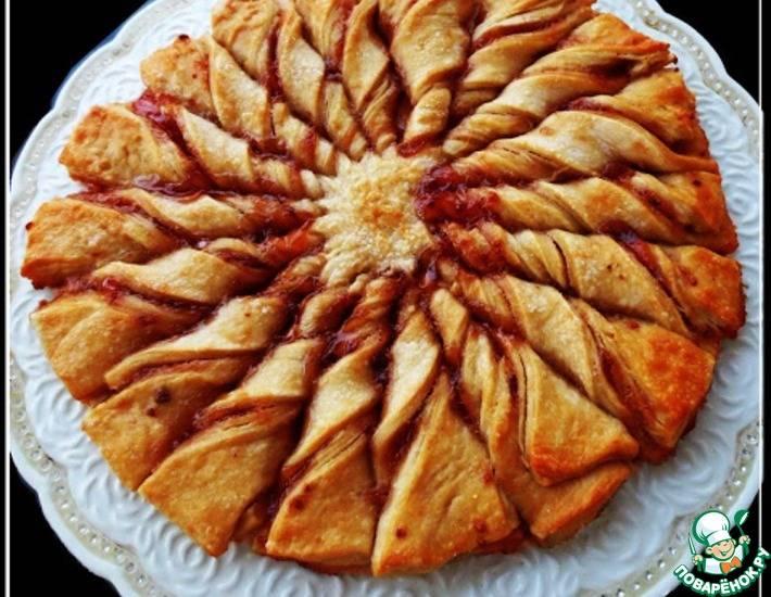 Быстрый пирог из варенья