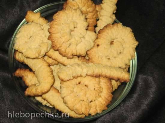 Песочное печенье рецепт с фото через мясорубку