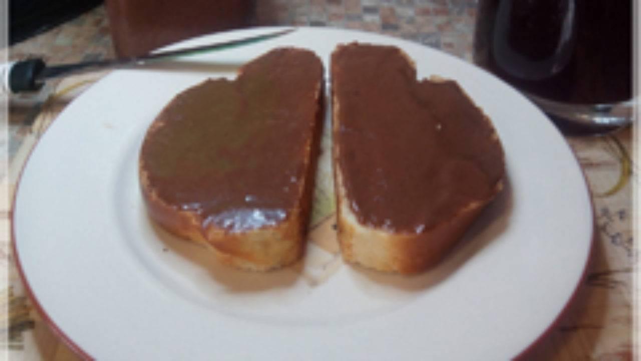 Рецепт приготовления шоколадной нутеллы в домашних условиях