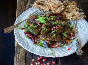 Печень куриная жареная с луком рецепт с фото
