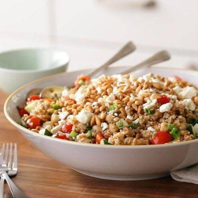 Рецепты самых вкусных салатов с крупами. часть i