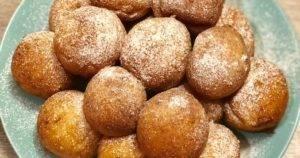Аппетитные закусочные творожные пончики без проблем