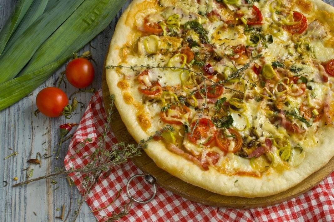 Пицца на дрожжах