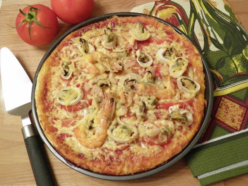 Пицца с мидиями: рецепты и варианты приготовления в домашних условиях