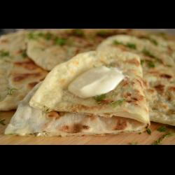 Чебуреки с сыром и зеленью. рецепт с фото