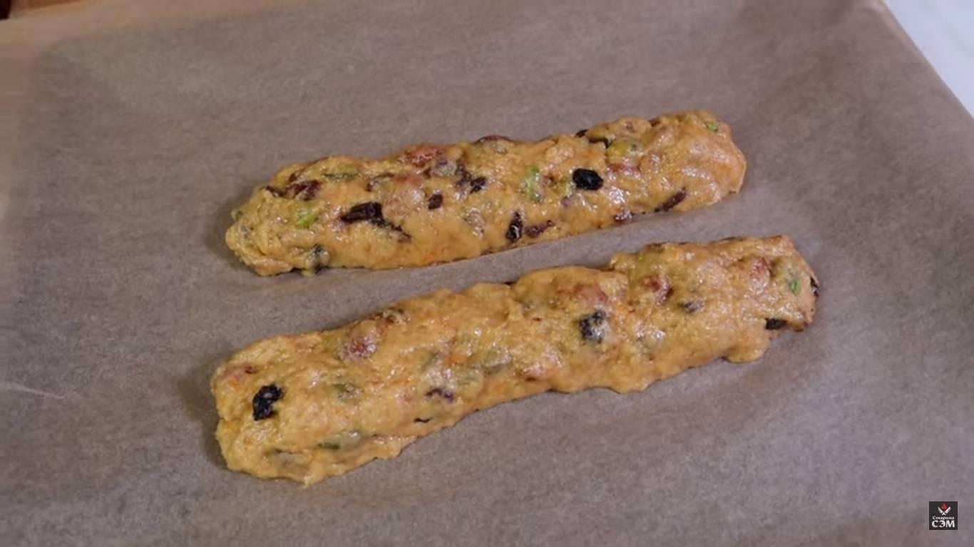 Итальянские печенья бискотти рецепт с фото