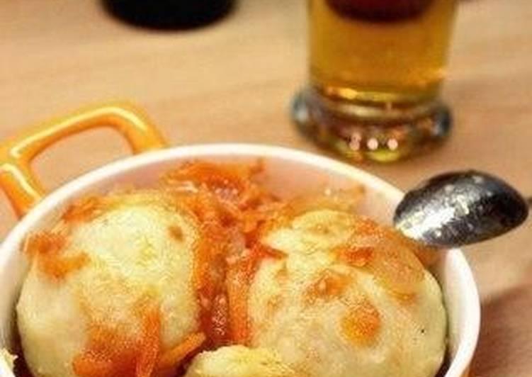Кнедлики картофельные