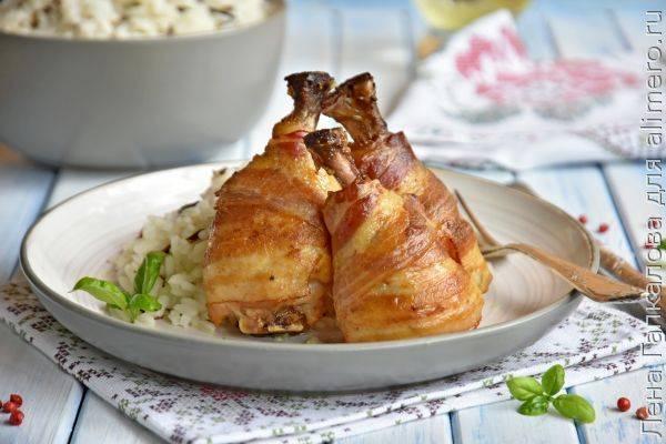 Куриные ножки в духовке с хрустящей корочкой — рецепты приготовления куриных голеней