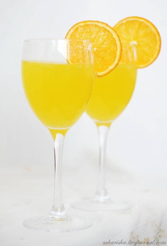 Лимонад из цедры апельсина