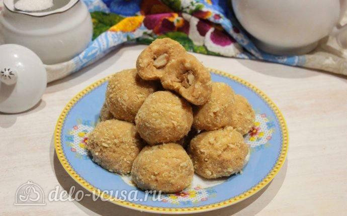 """Печенье """"кокосовые шарики с начинкой"""""""